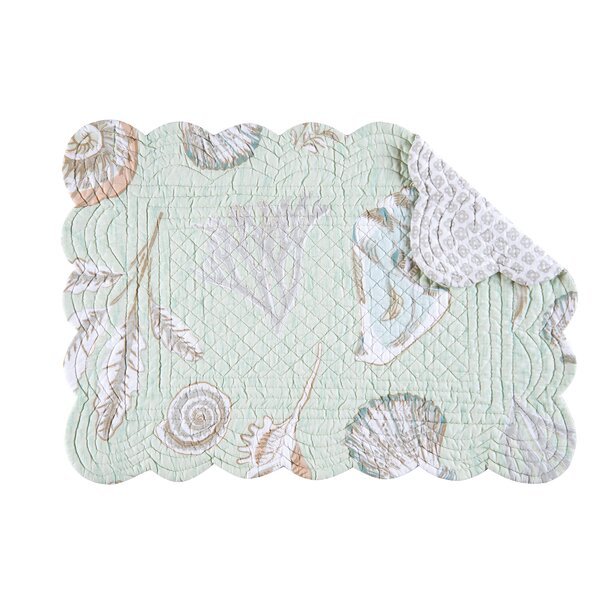 Breezy Shores 19 Placemat (Set of 6) by C&F Home