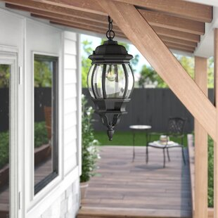 Rockmill 1-Light Hanging Lantern By Three Posts Outdoor Lighting