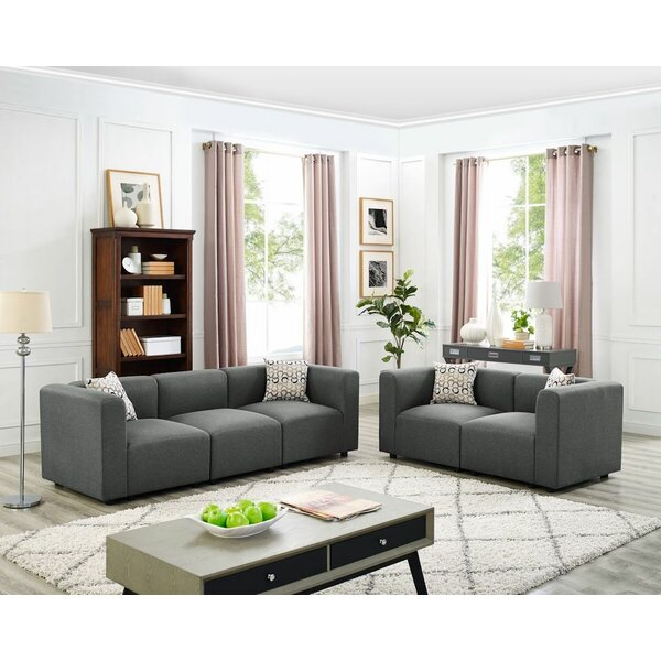 Jennings Modular 2 Piece Living Room Set by Wrought Studio