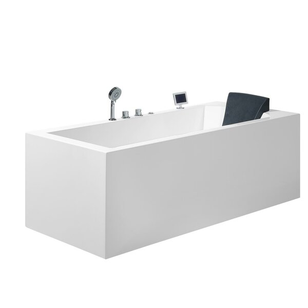 Platinum 71 x 31.5 Alcove/Tile in Whirlpool by Ariel Bath