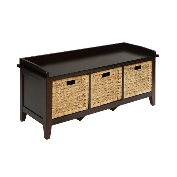 Sigourney Storage Bench by Breakwater Bay