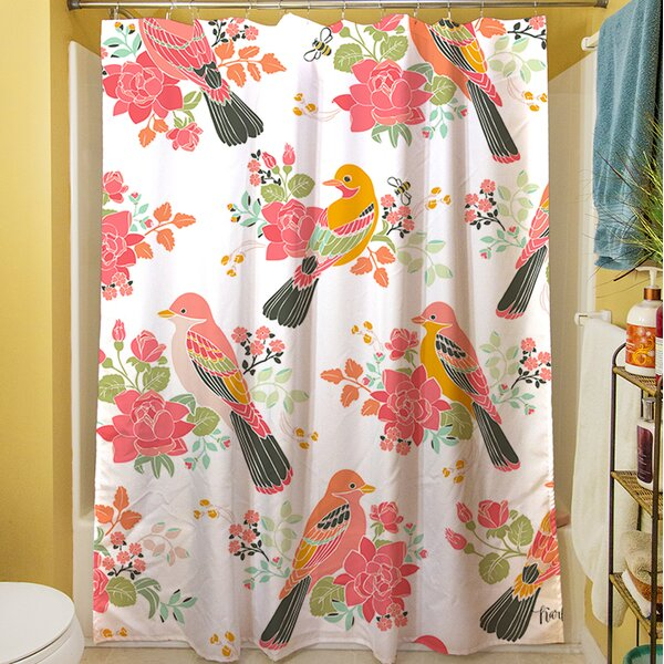 Littlest Bird Shower Curtain by Manual Woodworkers & Weavers