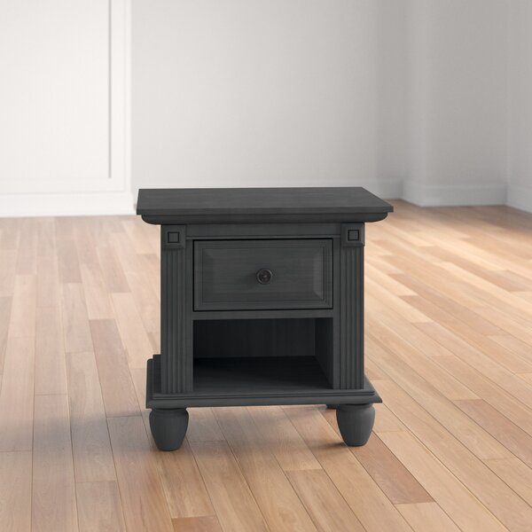 Pavillion 1 Drawer Nightstand by Three Posts Baby & Kids
