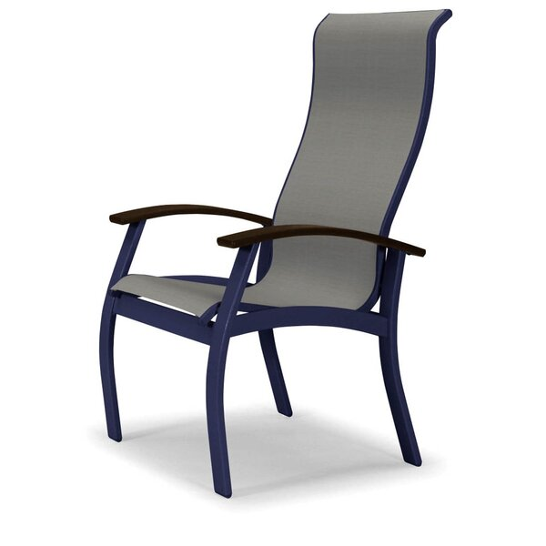 Belle Isle Sling Supreme Patio Dining Chair By Telescope Casual
