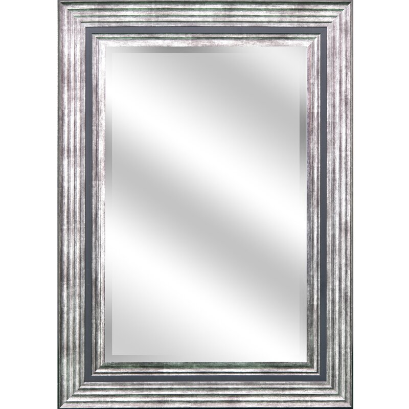 Beveled Wall Mirror y decor reflection bevel wall mirror & reviews | wayfair