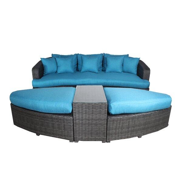 Rippy 4 Piece Sofa Set with Cushions by Brayden Studio