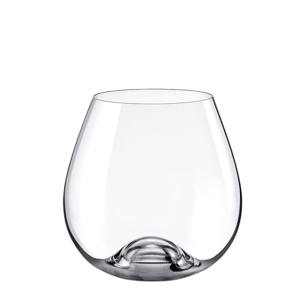 Drink Master Burgundy 16 oz. Glass Cocktail Glasses (Set of 4) by RONA
