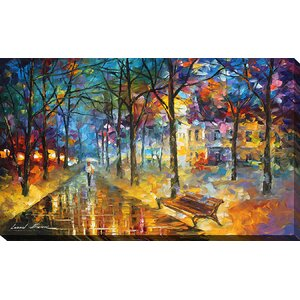 Colors of My Past by Leonid Afremov Painting Print on Wrapped Canvas by Picture Perfect International
