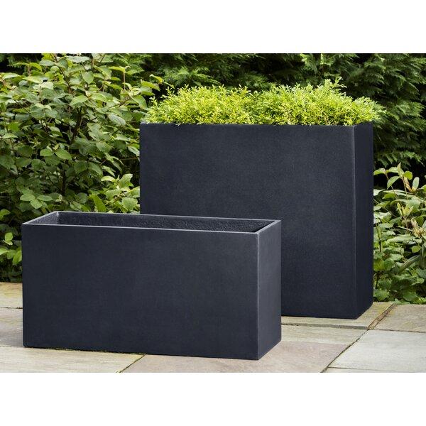 Pennyfield Modular 7 Fiberglass Planter Box by Orren Ellis