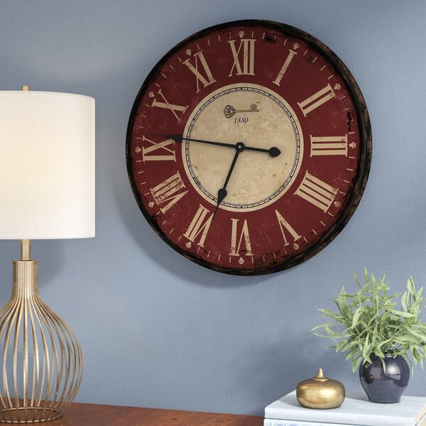 Cadsden Decor 24.5 Wall Clock by Red Barrel Studio