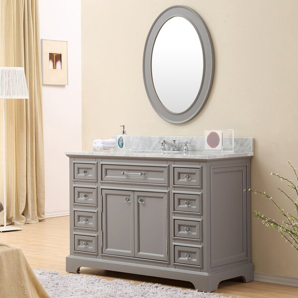 Bergin 48 Single Sink Bathroom Vanity Set by Three