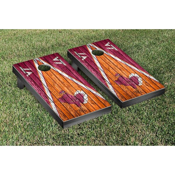 Triangle Weathered Version Cornhole by Victory Tailgate