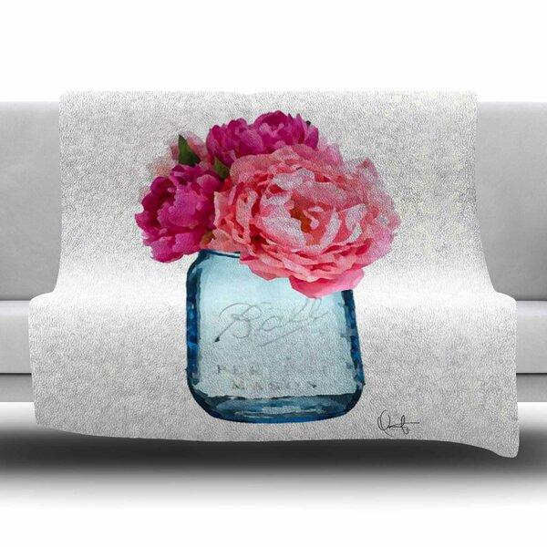 Perfect Mason by Oriana Cordero Fleece Blanket by East Urban Home