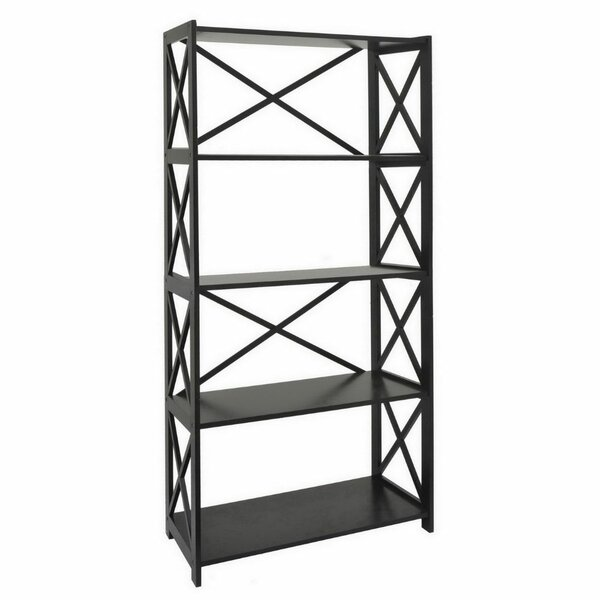 Mershon Wood Etagere Bookcase by August Grove