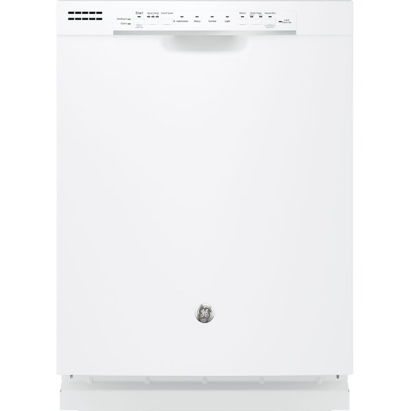 24 54 dBA Built-In Dishwasher with Front Controls by GE Appliances