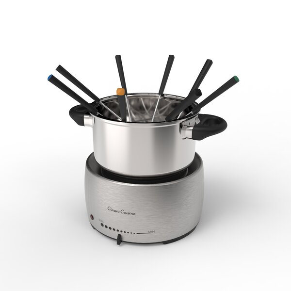 5 qt. Pot Stainless Steel Fondue Sets by Classic Cuisine