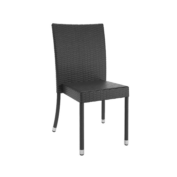 Witsham Stacking Patio Dining Chair (Set of 4) by Wrought Studio Wrought Studio