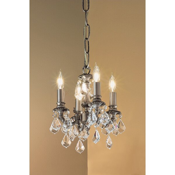 Majestic 4-Light Candle Style Chandelier by Classic Lighting