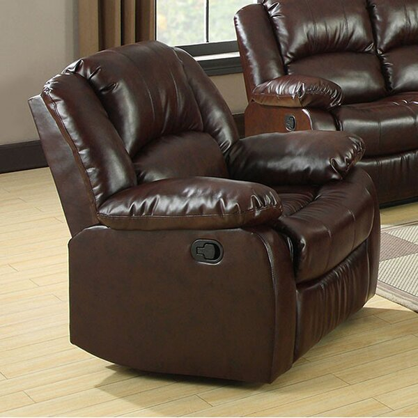 Marihan Bonded Leather Recliner by Red Barrel Studio