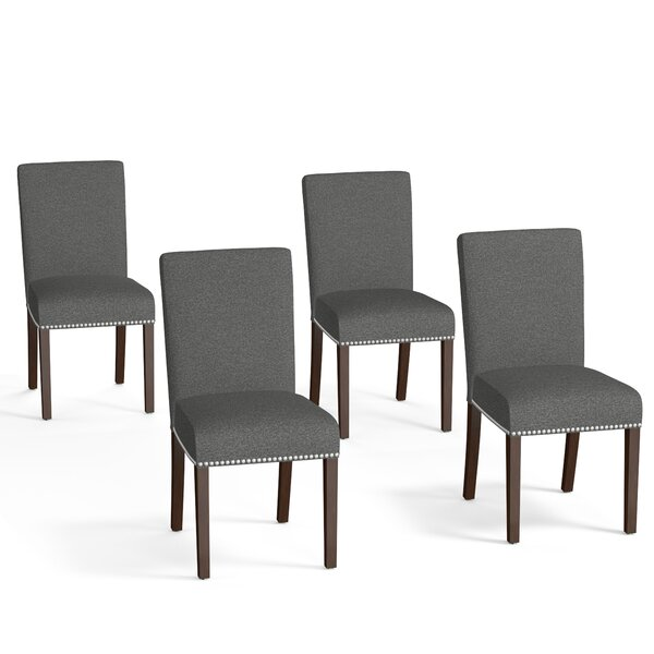 Berghout Upholstered Dining Chair (Set of 4) by Red Barrel Studio
