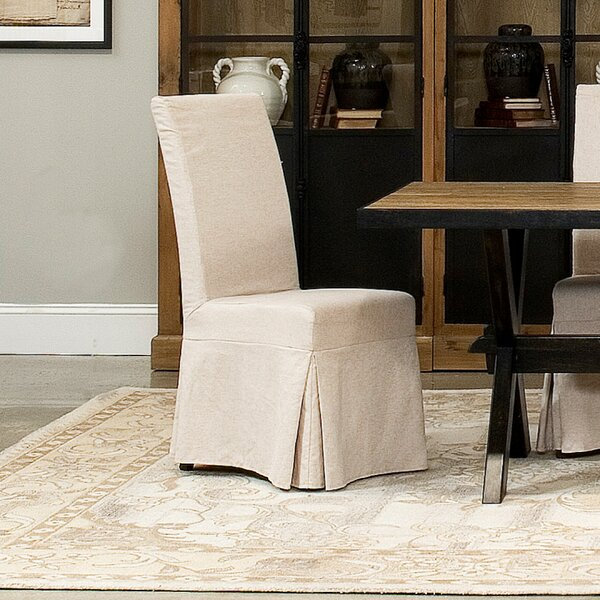 Draped Upholstered Dining Chair (Set of 2) by Sarreid Ltd