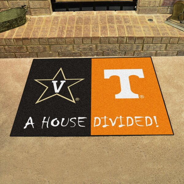House Divided - Vanderbilt / Tenneessee Doormat by FANMATS