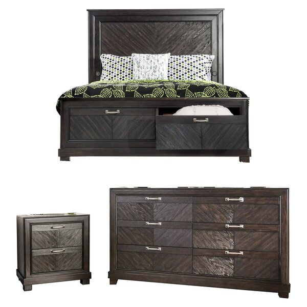 Gilstrap Platform Configurable Bedroom Set by Wrought Studio