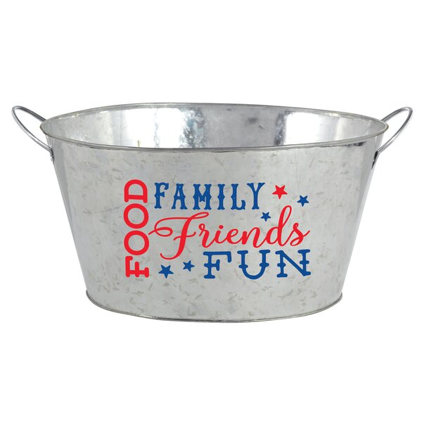 Patriotic Ice Bucket by Amscan