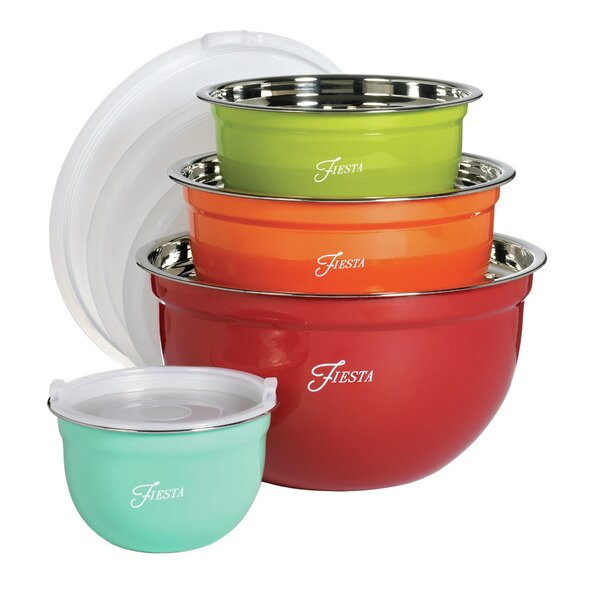 8 Piece Mixing Bowl Set by Fiesta