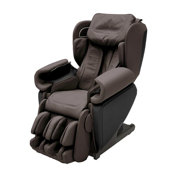 Wellness Kagra 4D Premium Reclining Reclining Heated Full Body Massage Chair With Ottoman By Synca Wellness