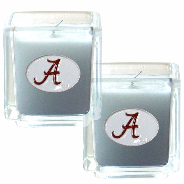 NCAA Candle (Set of 2) by Siskiyou Gifts