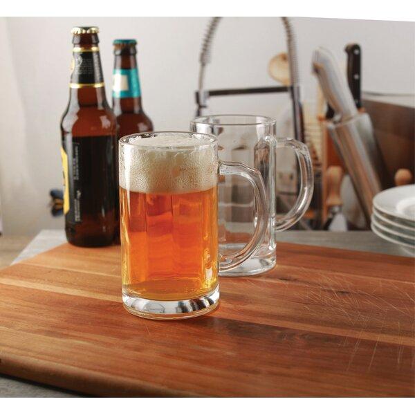 Kail Pub 15.7 oz. Glass Pint Glass (Set of 4) by Charlton Home