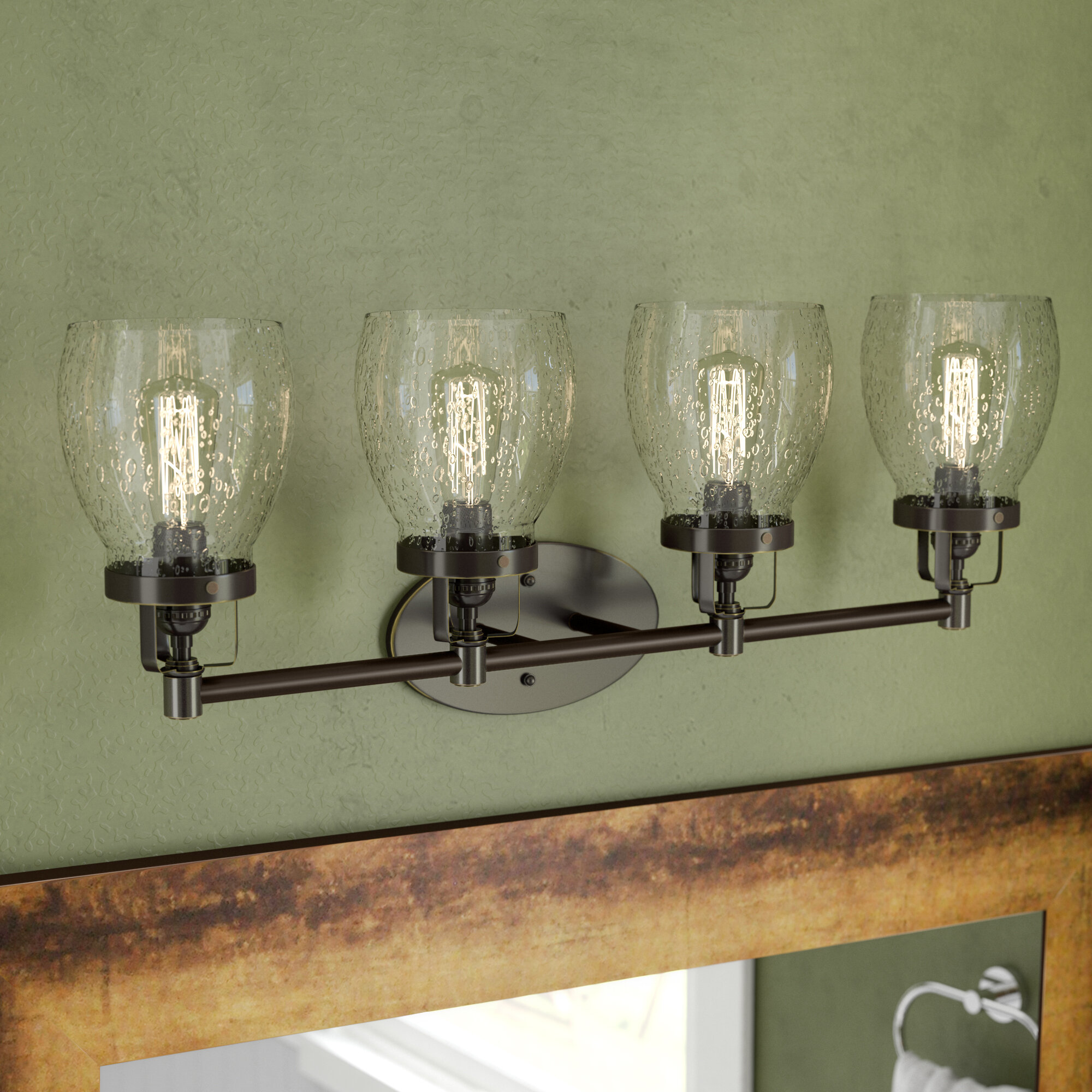 Trent Austin Design Panorama Point 4-Light Vanity Light & Reviews ...