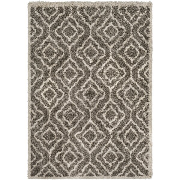 Lawing Taupe Area Rug by House of Hampton