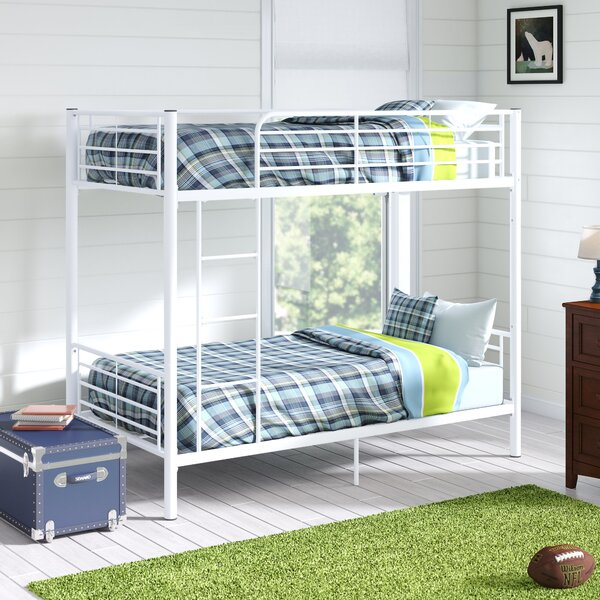 Malia Twin Over Twin Bunk Bed By Viv + Rae by Viv + Rae 2020 Sale