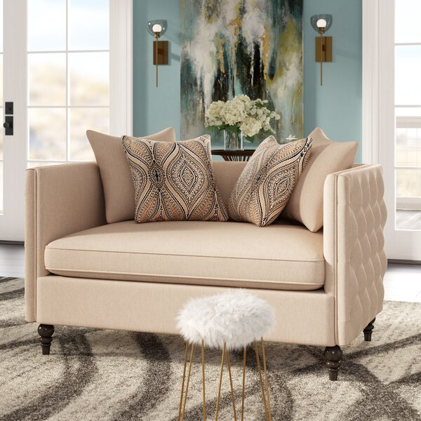 Dolson Chesterfield Loveseat by Willa Arlo Interiors