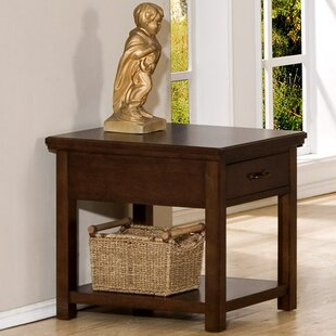 Reviews Boonville End Table By Darby Home Co