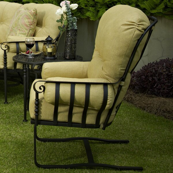 Urquhart Deep Seating High Back Chair with Cushion by Fleur De Lis Living Fleur De Lis Living