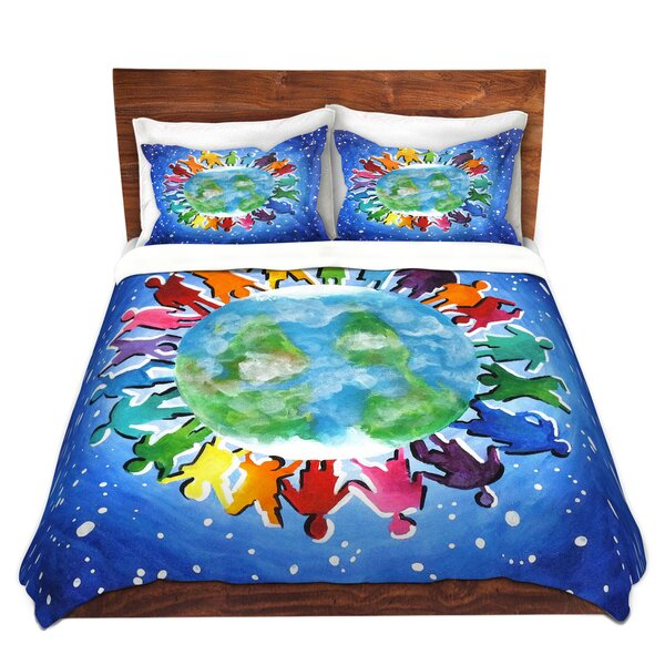 The World Is My Playground Duvet Cover Set