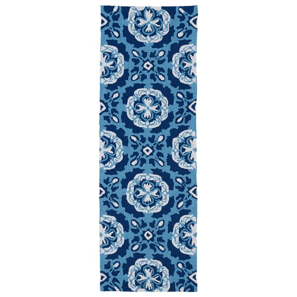 Bette Hand-Tufted Blue Indoor/Outdoor Rug by Winston Porter