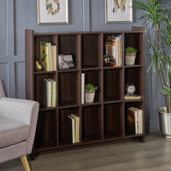 Peete Standard Bookcase By Ebern Designs