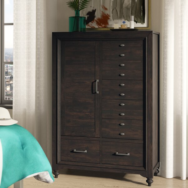Maguire 7 Drawer Gentlemans Chest by Darby Home Co