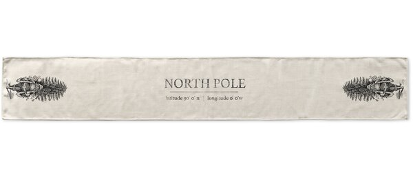 Northpole Table Runner by KAVKA DESIGNS