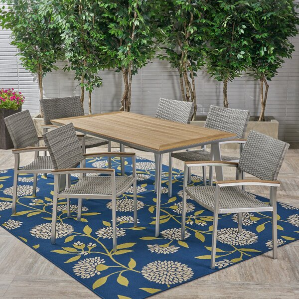Matsuda 7 Piece Dining Set by Union Rustic