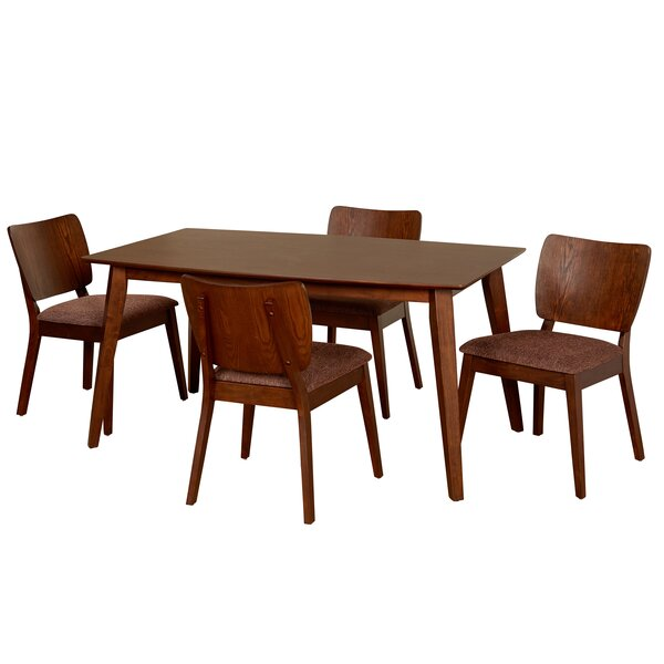 Looking for Jocelyn 5 Piece Dining Set By Langley Street Coupon