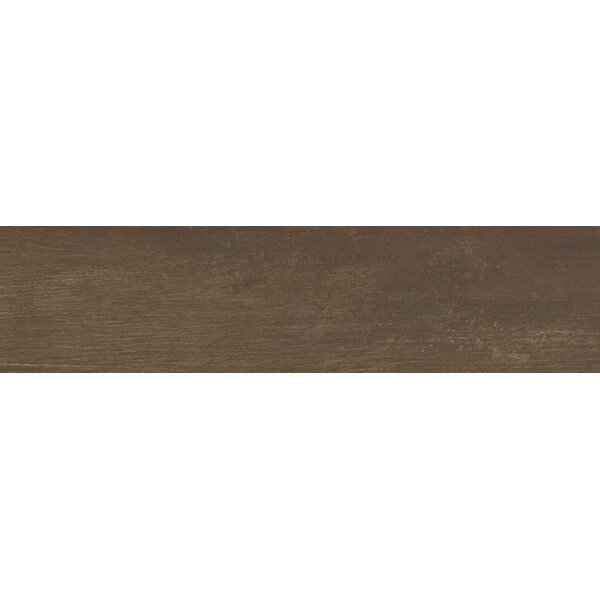 Helena Java 6 x 40 Porcealian Wood Look Tile in Brown by MSI
