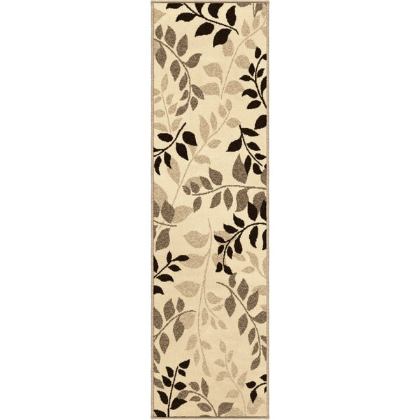 Sierra Olive Grove Beige Indoor/Outdoor Area Rug by Threadbind