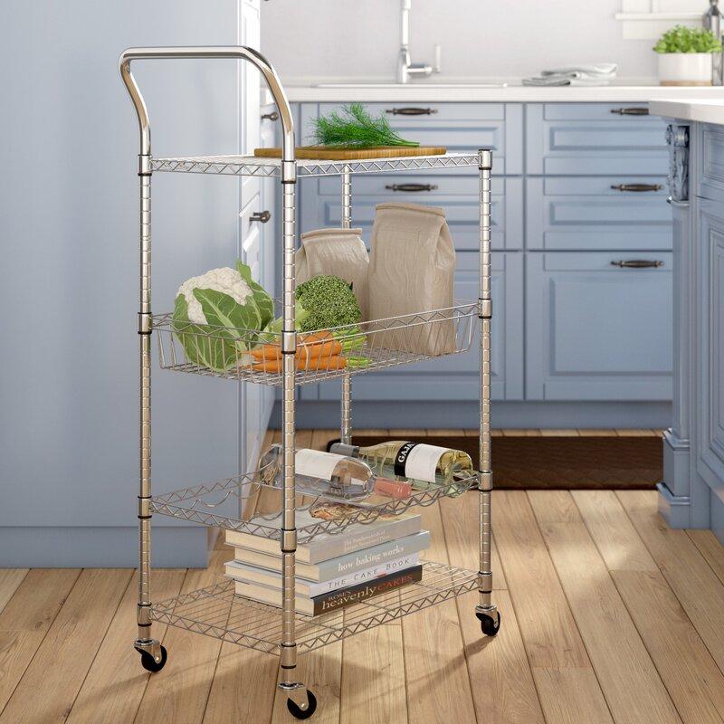Symple Stuff Bar Cart & Reviews | Wayfair