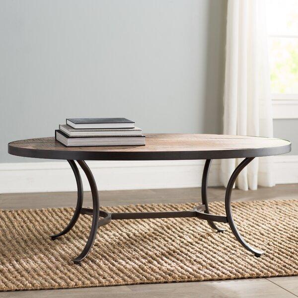 Wayfair Oval Coffee Table Mercury Row Ceres Oval Coffee Table Reviews Wayfair