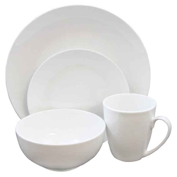 Sweetwater 16 Piece Dinnerware Set, Service for 4 by Charlton Home